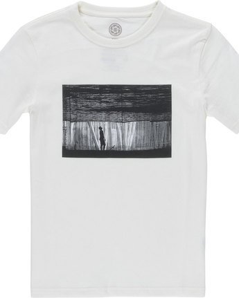 1 Liquid Ss Boy - Tee Shirt for Boys Beige N2SSC5ELP9 Element