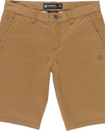 1 Howland Classic Wk B - Walkshort for Boys Brown N2WKA1ELP9 Element