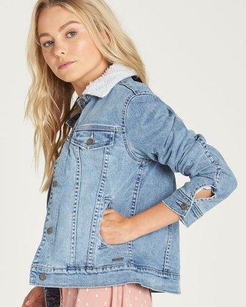 1 Alexs - Jacket for Women Blue N3JKA1ELP9 Element