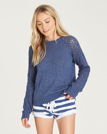 0 All Love - Jumper for Women Blue N3JPA3ELP9 Element