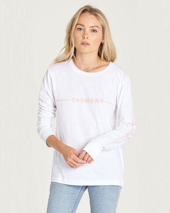 Line Logo Ls - Tee Shirt for Women  N3LSA1ELP9