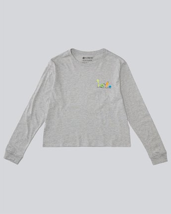 Yawyd Crop Ls - Tee Shirt for Women  N3LSA7ELP9
