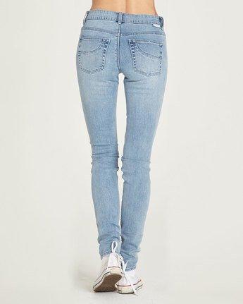 2 Sticker - Jeans for Women Blue N3PNA1ELP9 Element
