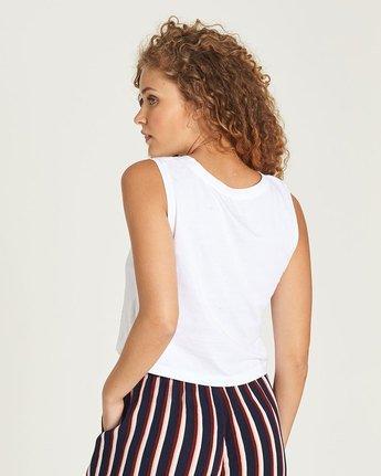 2 Random Crop Tank - Tee Shirt for Women White N3SGA1ELP9 Element