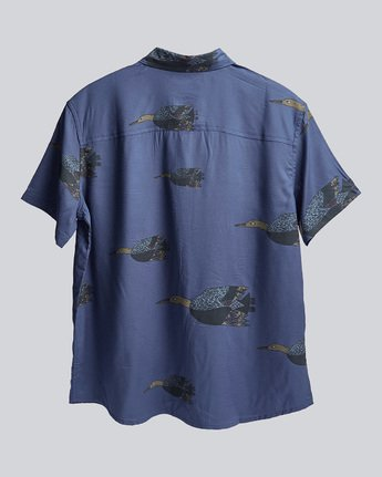 1 Kershnar Ss - Shirt for Women Blue N3SHA9ELP9 Element