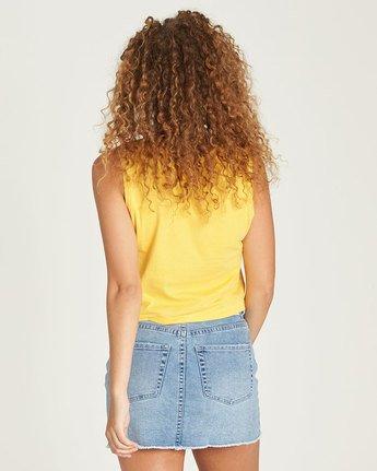 2 Yawyd Crop Tank - Tee Shirt for Women Yellow N3SSB2ELP9 Element