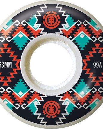 1 Indigena 53Mm - Wheels&Bearings for Men  N4WHA2ELP9 Element