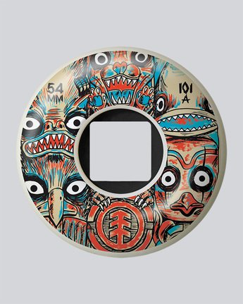 Fos Totem 54Mm - Wheels&Bearings for Men  N4WHB5ELP9