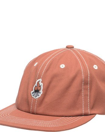 1 Camp Cap - Head Wear for Men Orange N5CTA1ELP9 Element