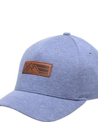 1 Field Cap - Head Wear for Men Blue N5CTA2ELP9 Element