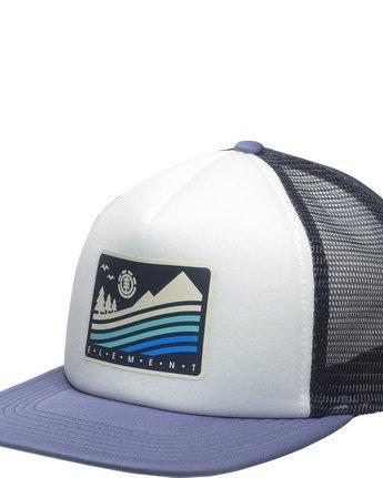 1 Rift Trucker Cap - Head Wear for Men Blue N5CTA4ELP9 Element