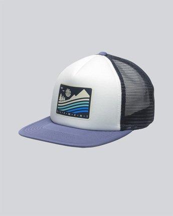 0 Rift Trucker Cap - Head Wear for Men Blue N5CTA4ELP9 Element