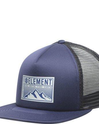 1 Camp Trucker Cap - Head Wear for Men Purple N5CTA5ELP9 Element