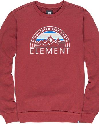 4 Odyssey - Sweatshirt Red Q1CRA7ELF9 Element