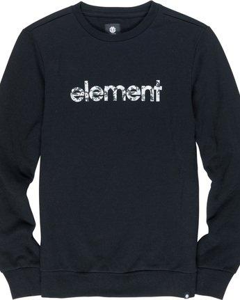 4 Verse - Sweatshirt Black Q1CRB1ELF9 Element