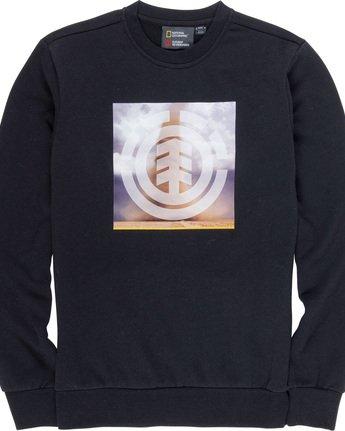 4 Combust Icon - Sweatshirt Black Q1CRB3ELF9 Element