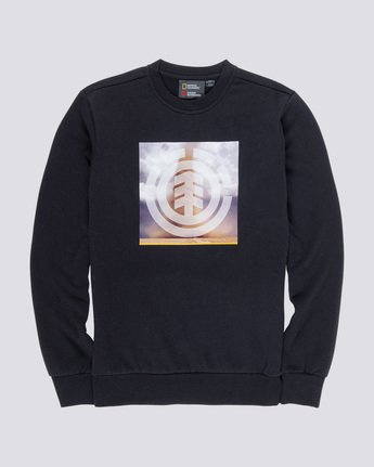 3 Combust Icon - Sweatshirt Black Q1CRB3ELF9 Element