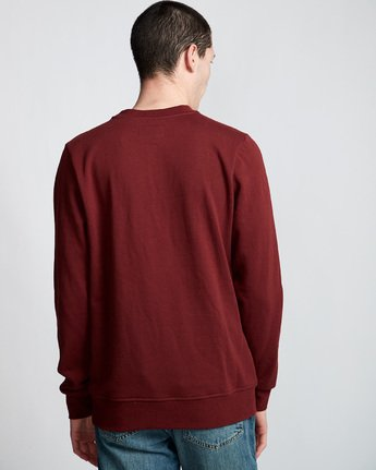 2 Too Late Stump - Sweat pour Homme Rouge Q1CRB4ELF9 Element