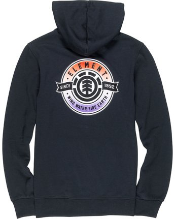 6 Medallian - Hoodie Black Q1HOA9ELF9 Element