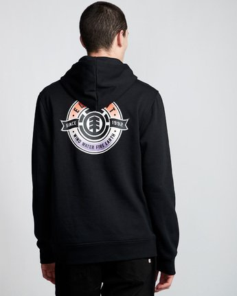 2 Medallian - Hoodie Black Q1HOA9ELF9 Element
