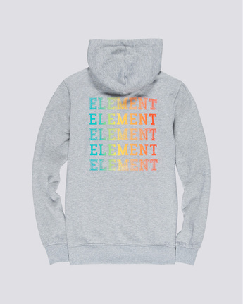 4 Drop - Pull à capuche pour Homme Gris Q1HOB1ELF9 Element