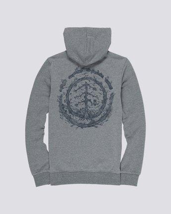 4 Too Late Logo - Hoodie Grey Q1HOC3ELF9 Element