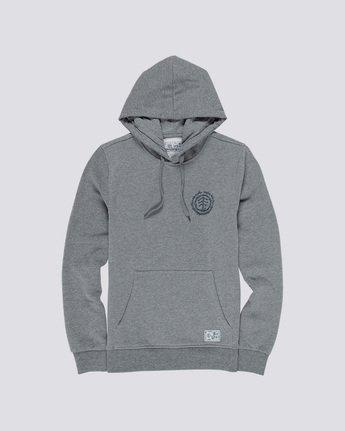 3 Too Late Logo - Hoodie Grey Q1HOC3ELF9 Element