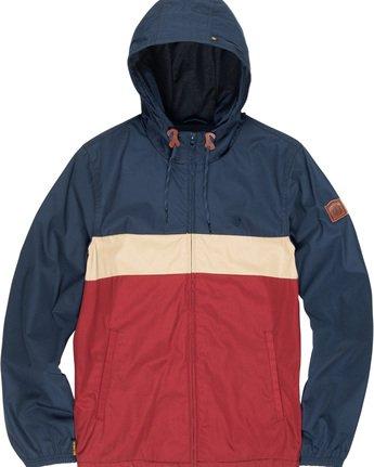 5 Alder 3 Tones - Hooded Jacket Red Q1JKB2ELF9 Element