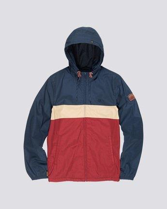 4 Alder 3 Tones - Hooded Jacket Red Q1JKB2ELF9 Element