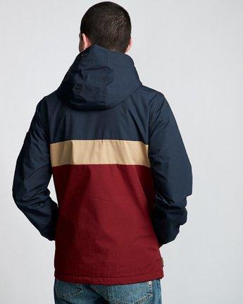 3 Alder 3 Tones - Hooded Jacket Red Q1JKB2ELF9 Element