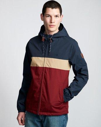 0 Alder 3 Tones - Hooded Jacket Red Q1JKB2ELF9 Element