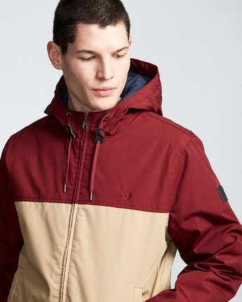 2 Dulcey 2 Tones - Hooded Jacket Gray Q1JKB3ELF9 Element