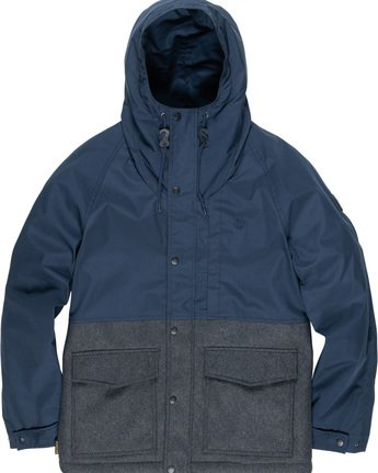5 Birchmont - Parka da Uomo Blue Q1JKB7ELF9 Element