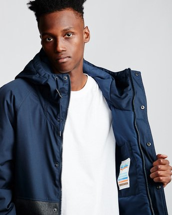 2 Birchmont - Parka da Uomo Blue Q1JKB7ELF9 Element