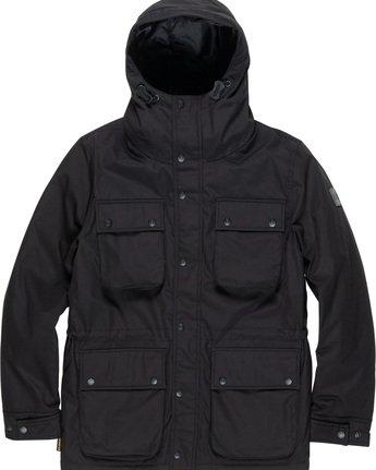 5 Boulder Brook - Hooded Jacket Black Q1JKB9ELF9 Element