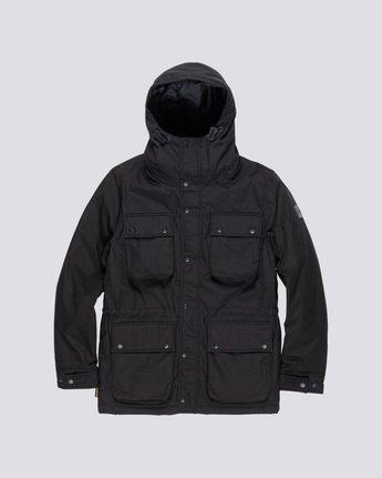 4 Boulder Brook - Hooded Jacket Black Q1JKB9ELF9 Element