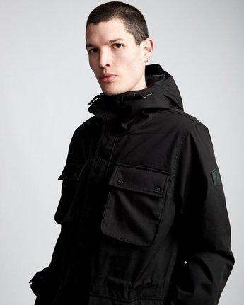 1 Boulder Brook - Hooded Jacket Black Q1JKB9ELF9 Element