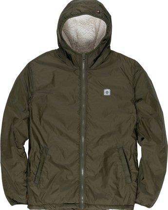 6 Elkins Alder Sherpa - Jacket Green Q1JKC5ELF9 Element