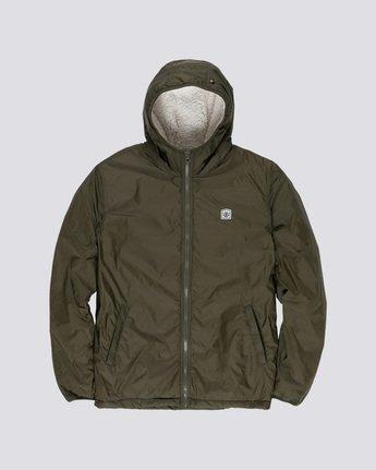5 Elkins Alder Sherpa - Jacket Green Q1JKC5ELF9 Element