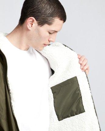 3 Elkins Alder Sherpa - Jacket Green Q1JKC5ELF9 Element