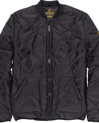 5 Northwoods - Jacket Black Q1JKC8ELF9 Element