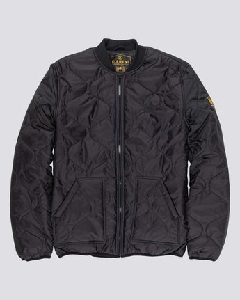4 Northwoods - Jacket Black Q1JKC8ELF9 Element
