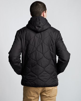 4 Albee - Hooded Jacket Black Q1JKC9ELF9 Element