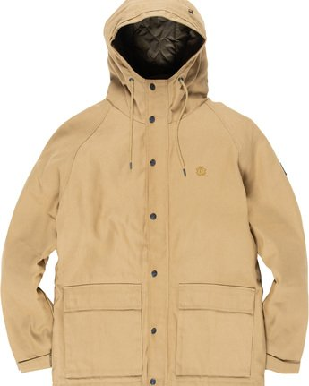 6 Koa Work - Hooded Jacket  Q1JKD1ELF9 Element
