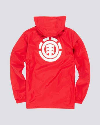3 Primo Alder - Hooded Coach Jacket Red Q1JKE4ELF9 Element