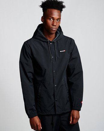Primo Alder - Hooded Coach Jacket  Q1JKE4ELF9