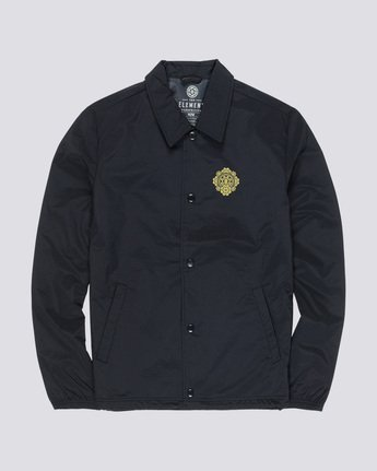 3 Abyss - Coach Jacket Black Q1JKF4ELF9 Element