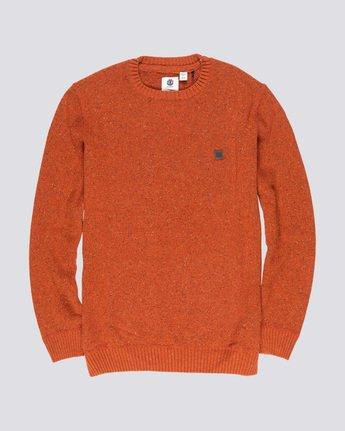 3 Kayden - Pullover für Männer Orange Q1JPA1ELF9 Element
