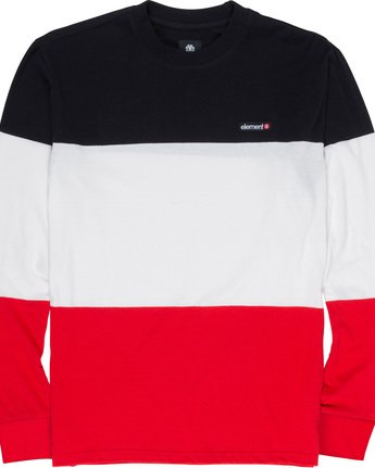 4 Primo Division - Long Sleeve T-Shirt Red Q1KTA2ELF9 Element