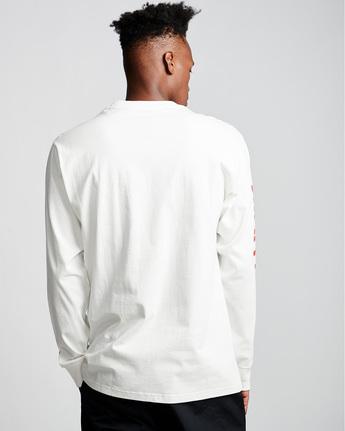 2 Primo - Long Sleeve T-Shirt White Q1LSA1ELF9 Element